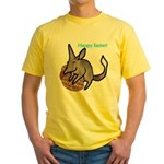 Easter Bilby Gifts, Yellow T-Shirt