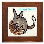 Easter Bilby Gifts, Framed Tile