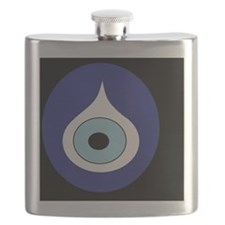 black evil eye Flask
