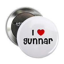 """I * Gunnar 2.25"""" Button (10 pack)"""