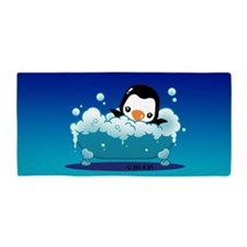 Penguin Beach Towel