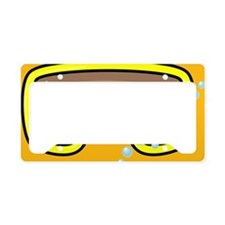 goggle_mpad_orange_N License Plate Holder