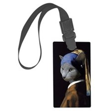 The Girl With The Pearl Earring Luggage Tag
