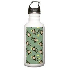 Silly Monkey Green iPh Sports Water Bottle