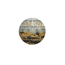 Shortcoming Quote on Jigsaw Puzzle Mini Button
