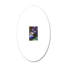 443 Monet WL Aga 20x12 Oval Wall Decal