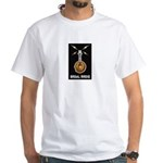 BAGeL Radio White T-Shirt