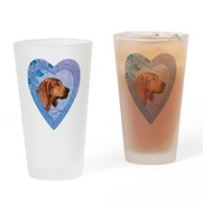 redbone-heart Drinking Glass