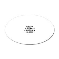Team J Fielding Smith XXL -  20x12 Oval Wall Decal