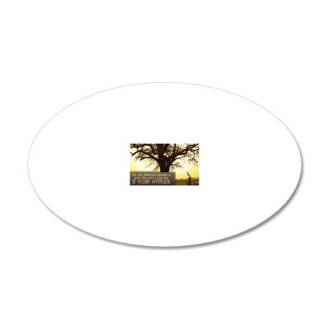 Good Day Quote on Jigsaw Puz 20x12 Oval Wall Decal