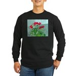 Roses Long Sleeve Dark T-Shirt
