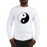 Zen Poker long sleeve shirt (art front & back)