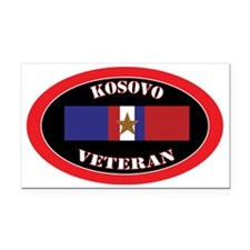 Kosovo-1-oval Rectangle Car Magnet