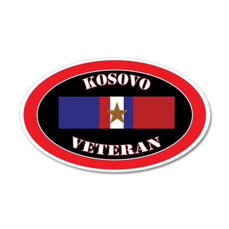 Kosovo-1-oval 35x21 Oval Wall Decal