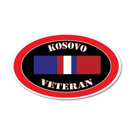 Kosovo-0-oval 35x21 Oval Wall Decal