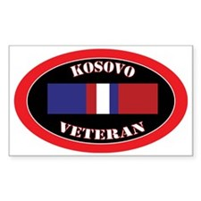 Kosovo-0-oval Decal