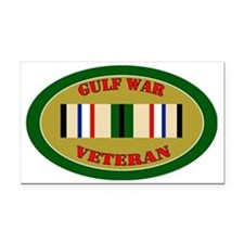 gulf-war-0-oval Rectangle Car Magnet