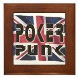 Unique Texas hold em Framed Tile