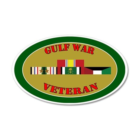 gulf-war-group-2-oval 35x21 Oval Wall Decal