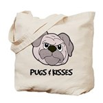 Pugs And Kisses Tote Bag