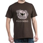 Pugs And Kisses Dark T-Shirt