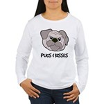 Pugs And Kisses Women's Long Sleeve T-Shirt