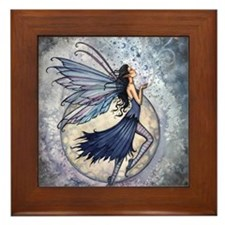Midnight Blue cp Framed Tile