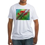 Roses Fitted T-Shirt