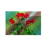 Roses Rectangle Magnet (10 pack)