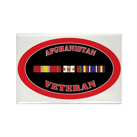 Afghanistan-3-1-oval Rectangle Magnet