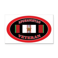 Afghanistan-1-oval Rectangle Car Magnet