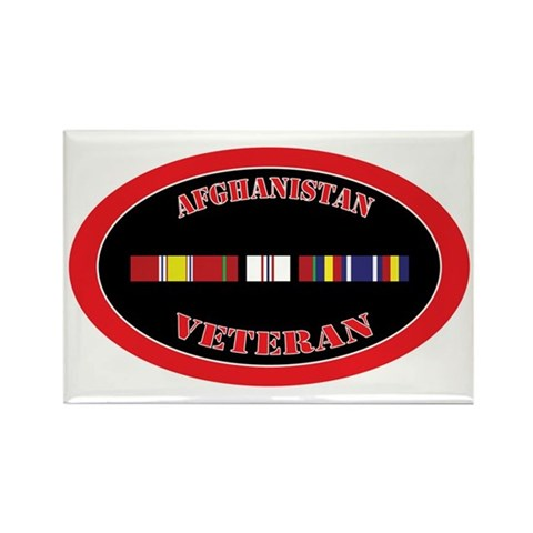 Afghanistan-0-1-oval Rectangle Magnet