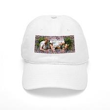 Personalizable Pink Bling Frame Baseball Cap