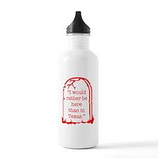 Texas Shirt DRK Water Bottle