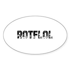ROTFLOL Oval Decal