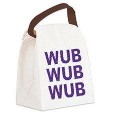 WUBWUB Canvas Lunch Bag