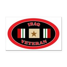 Iraq-1-oval Rectangle Car Magnet