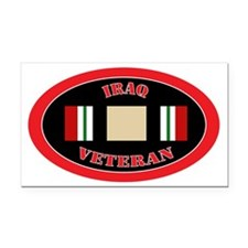Iraq-0-oval Rectangle Car Magnet