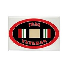 Iraq-0-oval Rectangle Magnet