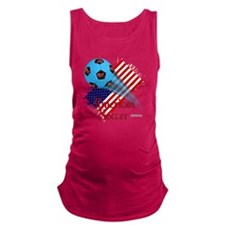 Shirt_USASoccerBonana Maternity Tank Top