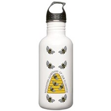 beekeepers tall Water Bottle