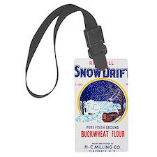 Snow Drift flour bag Luggage Tag