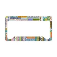 Mom 19x11 License Plate Holder