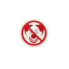 NoClowns Mini Button
