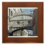 Bridge of Sighs Framed Tile