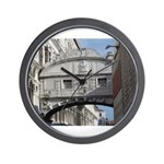 Bridge of Sighs Wall Clock