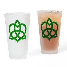 Gaelic-Love-Knot-pock Drinking Glass