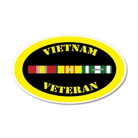 vietnam-oval-5-1 35x21 Oval Wall Decal