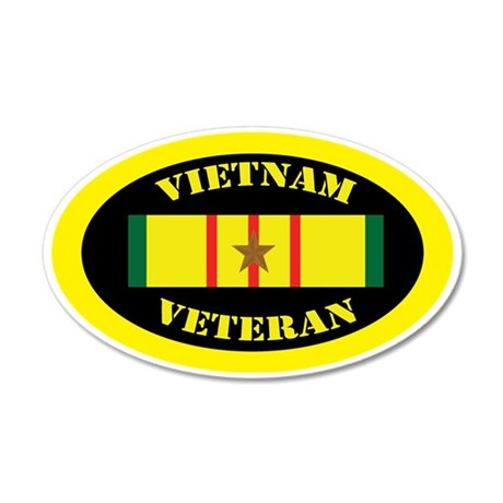 vietnam-oval-1 35x21 Oval Wall Decal