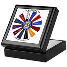 SEC Pinwheel - Large Keepsake Box